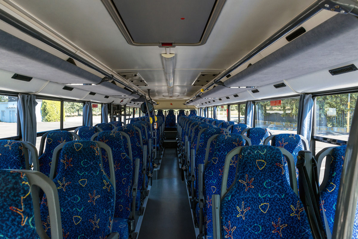 Linee Pubbliche interno autobus